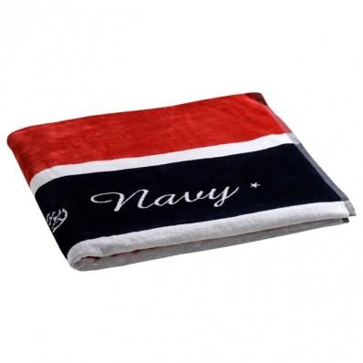 ROYAL RED ręcznik plażowy z poduszką