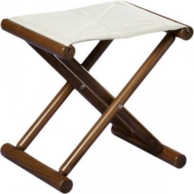 Składany stołek CALIDA biały