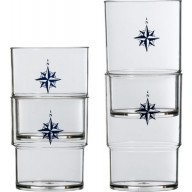 NORTHWIND szklanki piętrowalne 12szt.