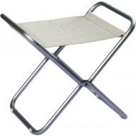 Składany stołek ALBA biały