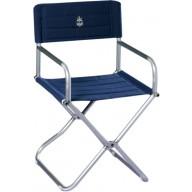 Składane krzesło ALBA granatowe