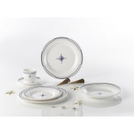 WYPRZEDAŻ! Zestaw obiadowy Compass Classic dla 4 osób, 20 el.