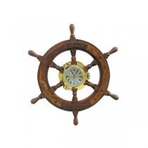 Koło sterowe z zegarem Ø45cm