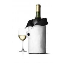 WYPRZEDAŻ! Termo okrycie do wina biało-czarne