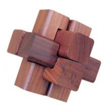 Łamigłówka drewniana Klocki