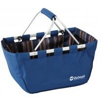 WYPRZEDAŻ! Koszyk piknikowy składany Outwell niebieski