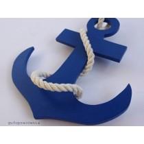 Kotwica dekoracyjna niebieska