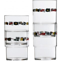 REGATA szklanki piętrowalne 12szt.