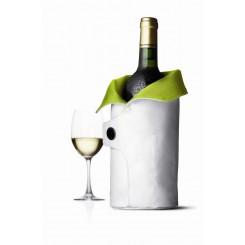 WYPRZEDAŻ! Termo okrycie do wina biało-zielone