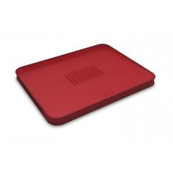 Deska do krojenia duża CUT&CARVE PLUS czerwona