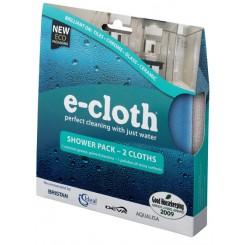 E-cloth ściereczki uniwersalne - do kabin prysznicowych