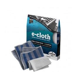 E-cloth komplet ściereczek do czyszczenia płyt kuchennych i piekarników