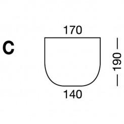 Prześcieradło elastyczne MB MODEL C - białe