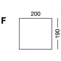 Prześcieradło elastyczne MB MODEL F - białe