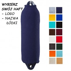 Pokrowiec cylindryczny GRUBSZY 1szt. różne*kolory