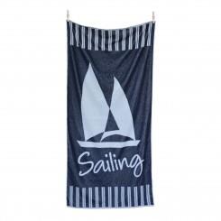 Ręcznik plażowy frotte Sailing 80x160