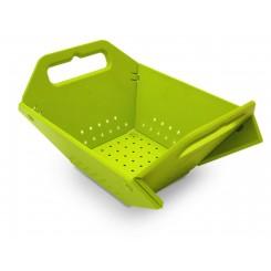 WYPRZEDAŻ! Durszlak składany 'koszyczek' zielony