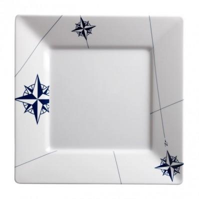 NORTHWIND kwadratowy talerz 25x25cm 6szt.