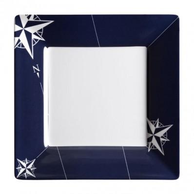 NORTHWIND kwadratowy talerz 21x21cm 6szt.