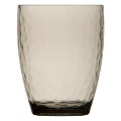 CRYSTAL SMOKE szklanka do wody 6szt.