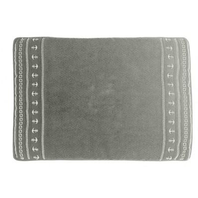 SANTORINI dywanik łazienkowy 45x60 Kotwice -popielaty