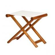 Składany stołek OLEFIN ecru