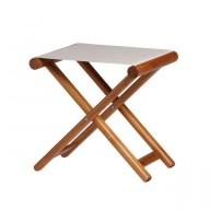 Składany stołek BREATHABLE beżowy