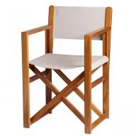 Składane krzesło Minorca BREATHABLE beżowe