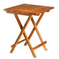 Składany stół TEAK 60x60cm