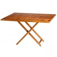 Rozkładany stół TEAK 120x40/80cm