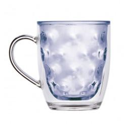 MOON BLUE termiczne szklanki z uszkiem 6szt.