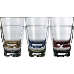 PARTY COLOR szklanki 350ml 6szt.