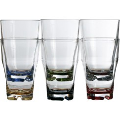 PARTY COLOR szklanki 450ml 6szt.