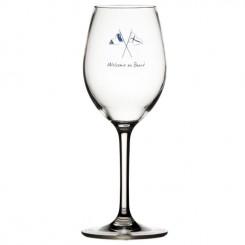 WELCOME ON BOARD kieliszki do wina Non-slip 6szt.