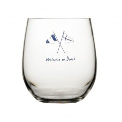 WELCOME ON BOARD szklanki do wody Non-slip 6szt.