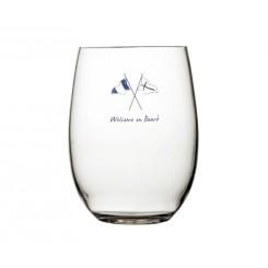 WELCOME ON BOARD szklanki wysokie Non-slip 6szt.