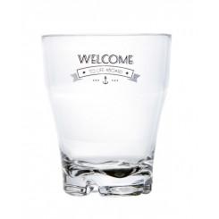 WELCOME szklanki piętrowalne 6szt.