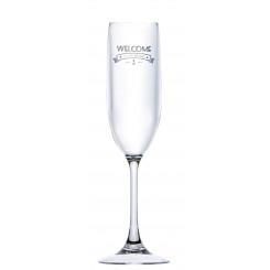 WELCOME kieliszki do szampana 6szt.