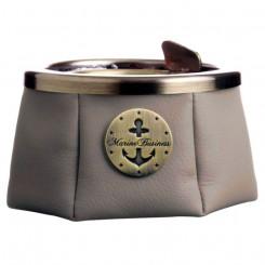 Popielniczka z pokrywką Premium Grey-Beige