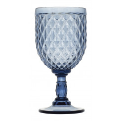 DIAMOND BLUE kieliszki do wina 6szt.