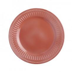 SERENITY CORAL talerz deserowy Ø21,5cm 6szt.