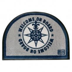 Wycieraczka dywanowa ROUND BLUE 1szt. (odporna na UV)