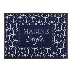 Wycieraczka marynistyczna Marine Style 1szt. (odporna na UV)