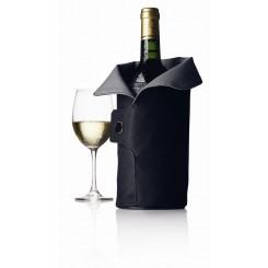 WYPRZEDAŻ! Termo okrycie do wina czarno-siwe