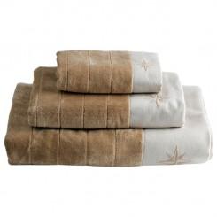 FREESTYLE ręczniki WindRose 3 szt. beżowe
