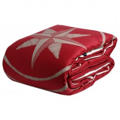 FREESTYLE narzuta 240x270, czerwona