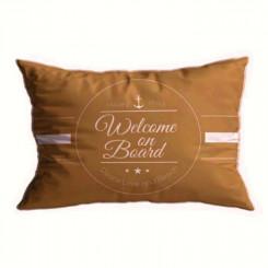 SANTORINI poduszki Welcome 2szt., piaskowy beż