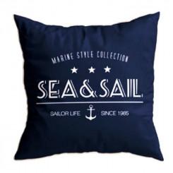 SANTORINI poduszki Sea&Sail 2szt., granat