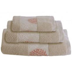 IBIZA komplet ręczników 3szt. beżowe