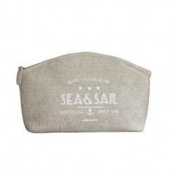Kosmetyczka marynistyczna SEA&SAIL beżowa